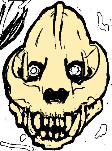 Panda Skull Tumblr